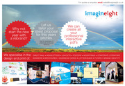 FOR ALL YOUR DESIGN,  PRINT AND MARKETING - Imagineight